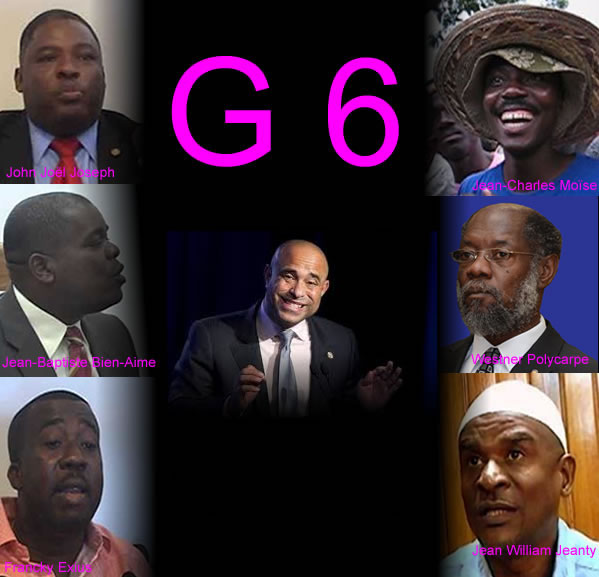 Will Laurent Lamothe have to face the G6?