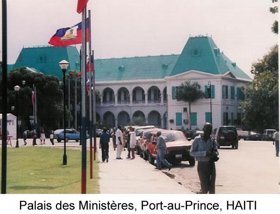 Palais des Ministères, Port-au-Prince, HAITI