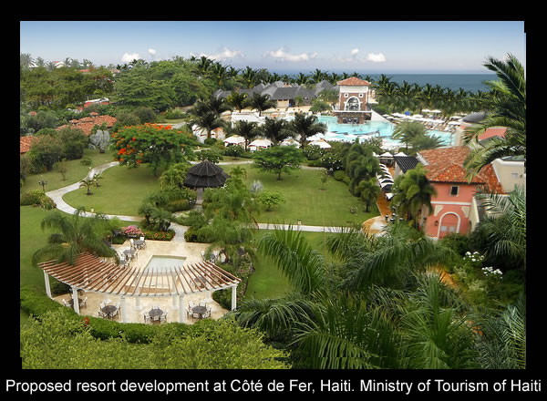 Proposed resort development in Cote de Fer, similar to Punta Cana
