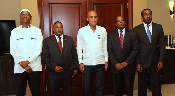 Michel Martelly and G6 Opposition