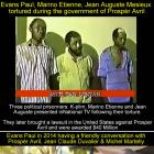 Evans Paul, Prosper Avril, Jean Claude Duvalier, from Abuse to friendship