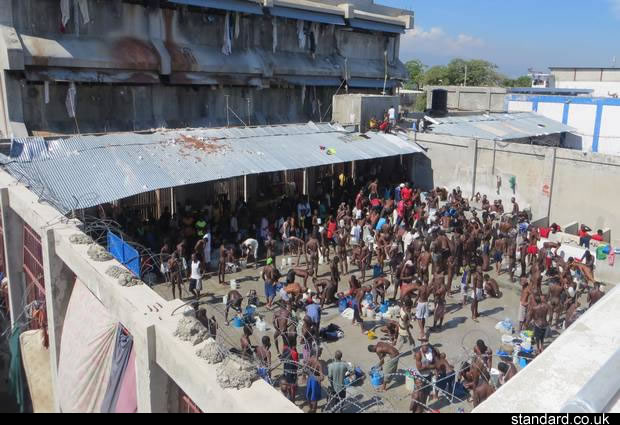 Crime, human rights abuses, inside Haiti's prisons