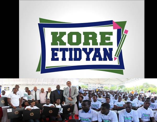 Kore Etidyan Program, Help to Haitian Student