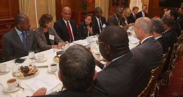Martelly Promotes Opportunities in Haiti