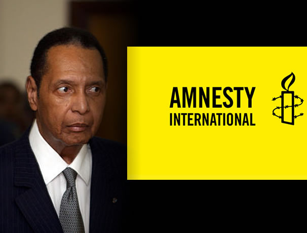 Amnesty International Lashes Out at Martelly on Duvalier Funeral