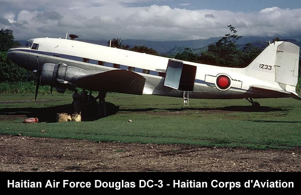 U.S. Sponsored Corps d'Aviation d'Haiti finally Fizzles