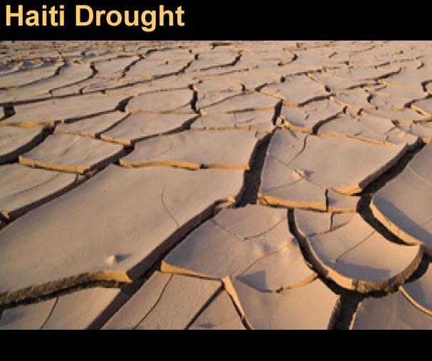 Drought or the Dry season in Haiti