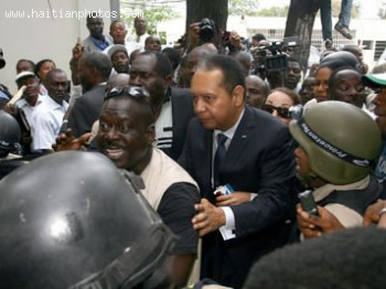 Duvalier Taken To Court To Answer Questions