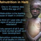Malnutrition in Haiti