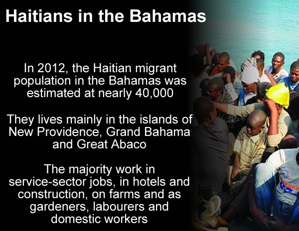 The Haitian Population in the Bahamas