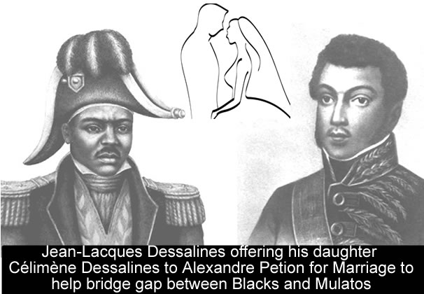 Could a marriage between Celimene Dessalines and Alexandre Petion spare the Emperor?