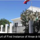 Court First Instance Anse Veau