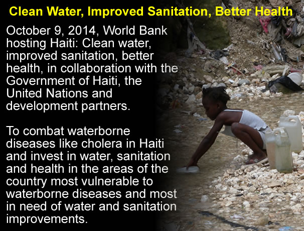 International Agencies attacking Cholera in Haiti on Several Fronts