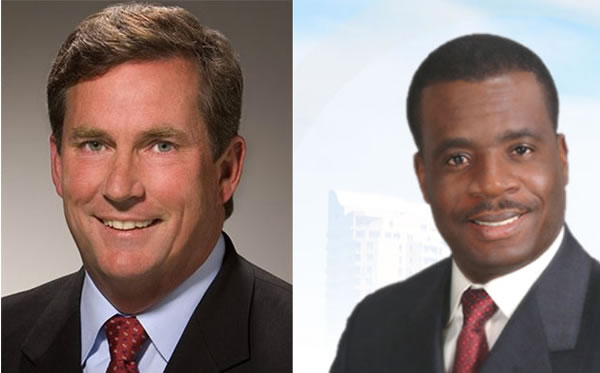 Kevin Burns against Dr. Smith Joseph in North Miami Mayoral Race