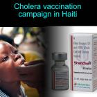 Cholera vaccination campaign in Haiti