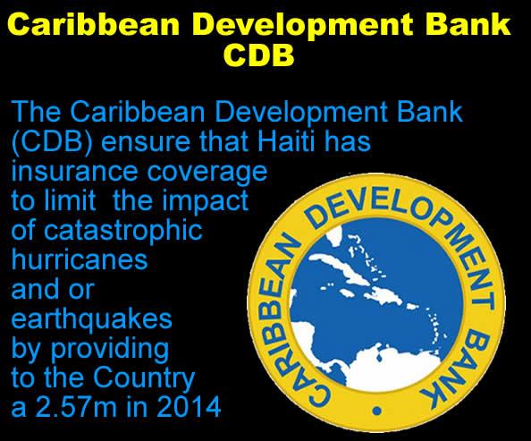 Caribbean Development Bank (CDB) Haiti Catastrophe Insurance with Grant