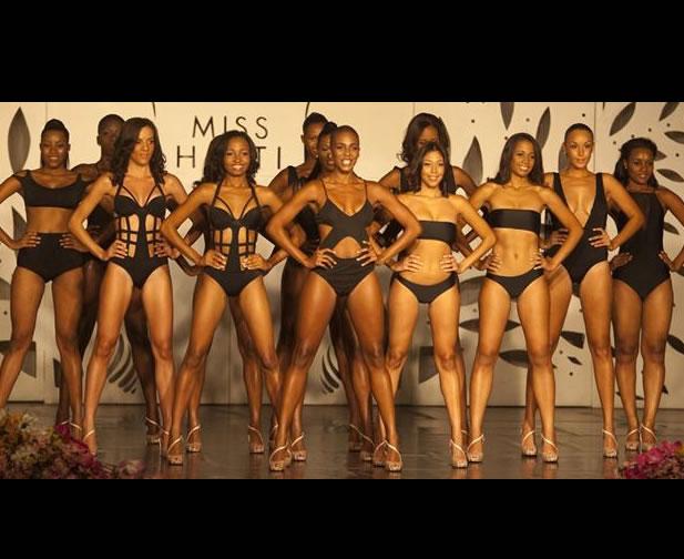 Carolyn Desert won Miss Haiti Contest
