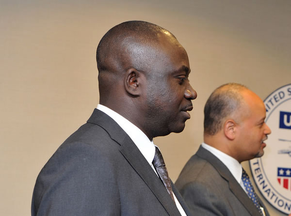 Haiti Minister of Agriculture, Thomas Jacques