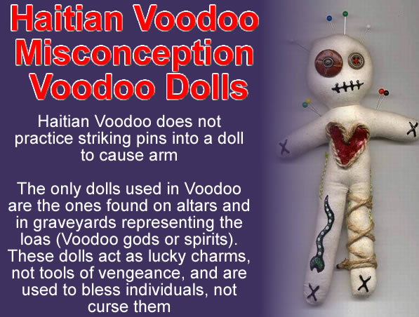 Haitian Voodoo Misconception about Voodoo Dolls