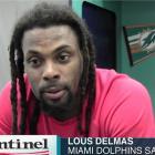 Haitian-American Miami Dolphins' safety Louis Delmas, a Haitian