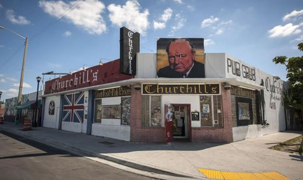 Churchill's Pub in Little Haiti