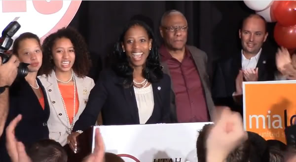 Mia Love made history, First Haitian-American, First Black Republican woman