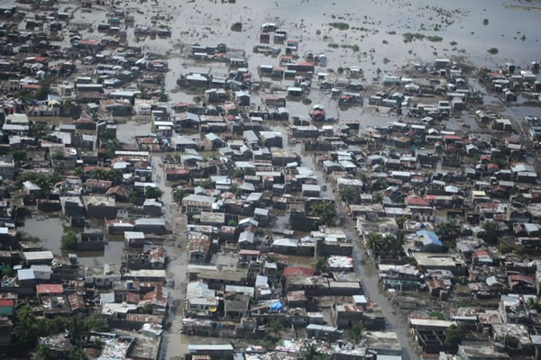 Cap-Haitian under Water