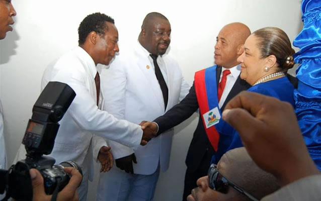 Gracia Delva, Michel Martelly, Sophia Martelly