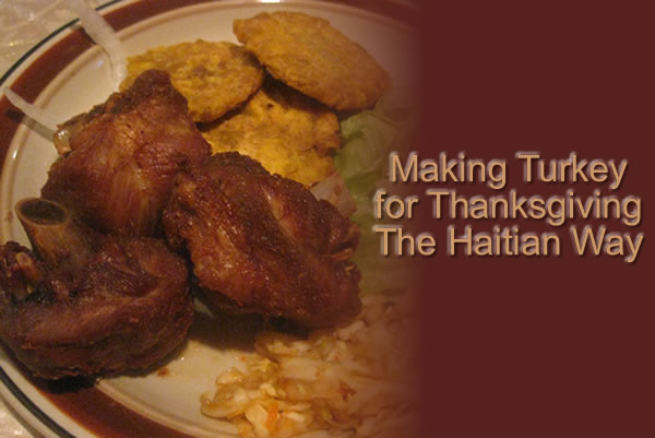 Haitian Style Turkey for Thanksgiving