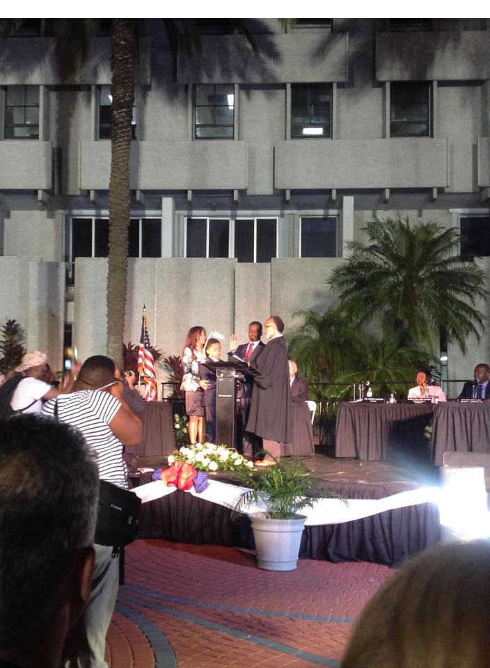 Mayor of North Miami Joseph Smith Introduction Ceremony