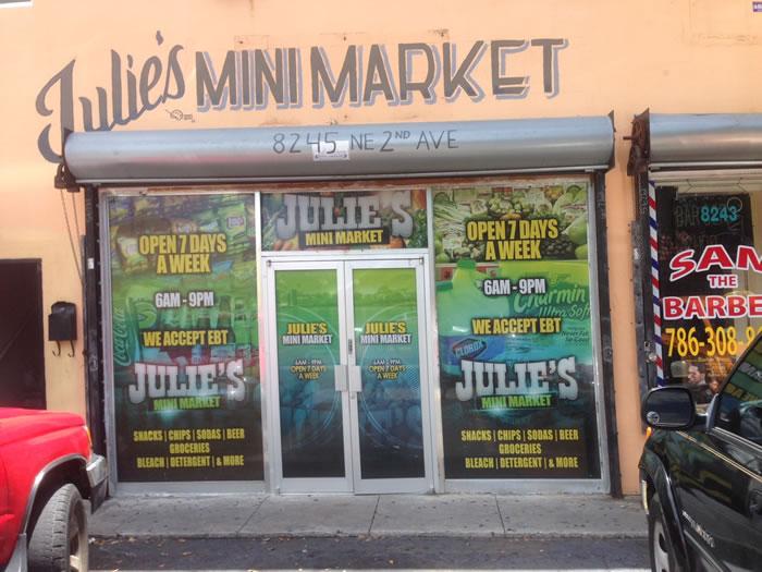 Julie's Mini Market