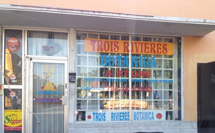 Trois Rivieres Botanica and Store in Little Haiti