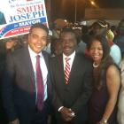 Jerry Tardieu and Dr Smith Joseph in North Miami