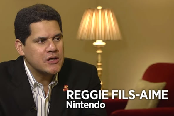 Reginald Fils-Aimé(Reggie) President and chief operating officer of Nintendo