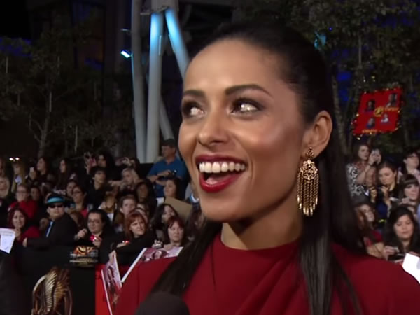 Meta Golding,  Haitian American rising actress
