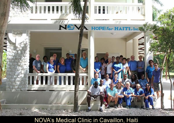 NOVA's Medical Clinic in Cavaillon, Haiti