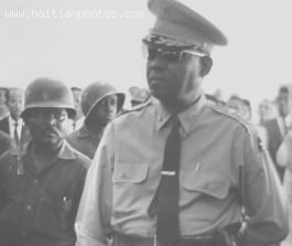 General Jacques Gracia Was A Member Of Francois Duvalier And Jean-Claude Duvalier Government