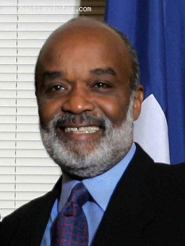 Haitian President Rene Preval And His Government