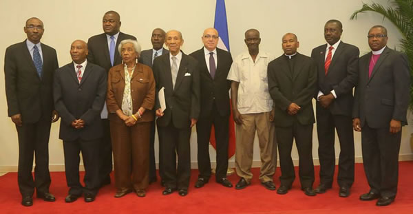 Membres de la Commission consultative presidentielle