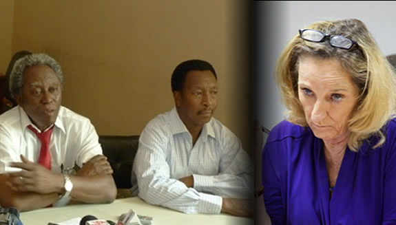 Haiti Opposition Meets With US Ambassador Pamela White