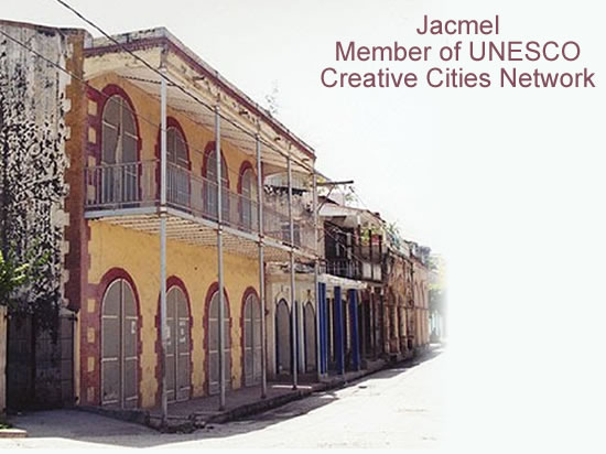 Jacmel, member of UNESCO Creative Cities Network
