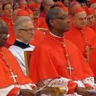 Cardinal Chibly Langlois celebrating Mass in Little Haiti