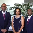 Michel Martelly, Mildred Trouillot, Jean-Bertrand Aristide