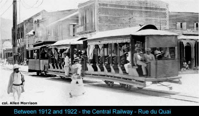 Central Railway in Port-au-Prince, Cincinnatus Leconte government