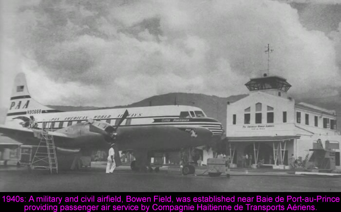 The history of Toussaint Louverture International Airport