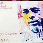 Michel Martelly sale-signing of his autobiography book