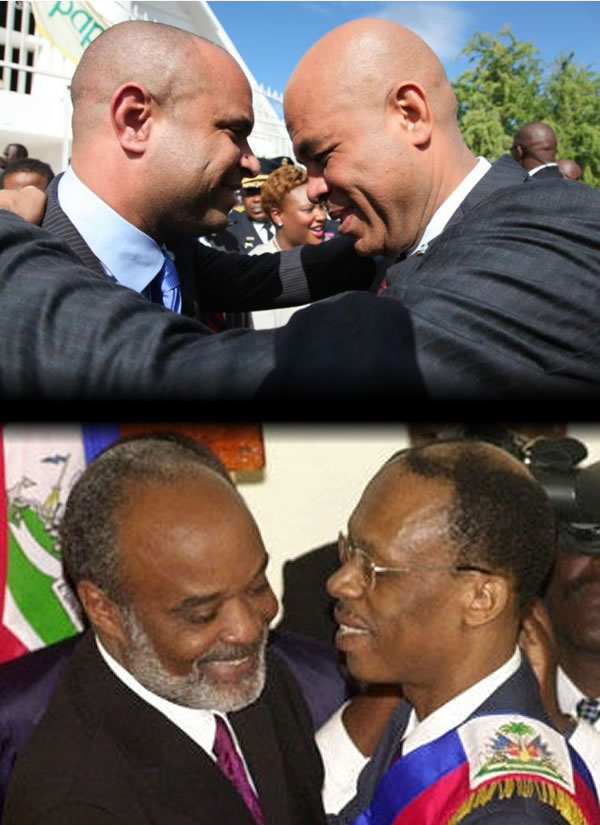 Political relationship, Martelly-Lamothe, Aristide-Preval