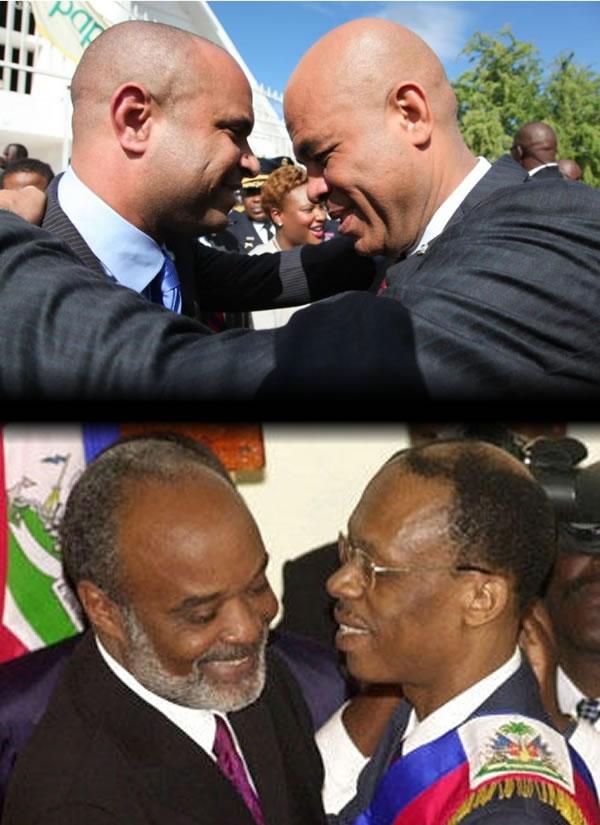 Political relationship, Martelly-Lamothe, Aristide-Preval