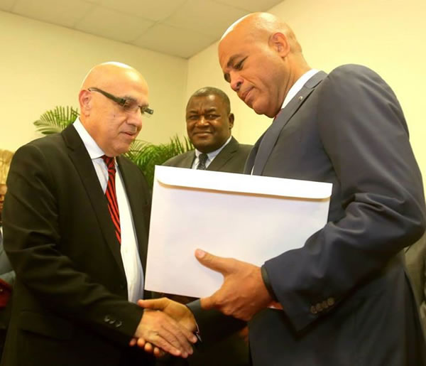 Commission calls for resignation of Prime Minister Laurent Lamothe