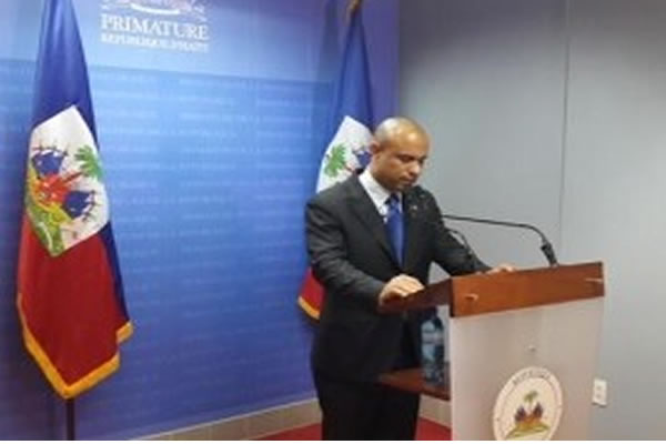Haiti's Prime Minister Laurent Lamothe resigns as street protests increase